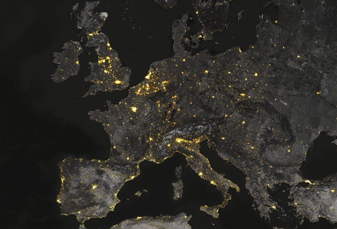 Lights of the Night, Europe