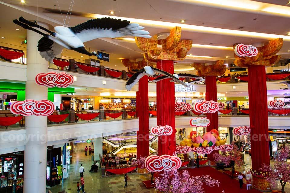 Chinese New Year Decorations @ Berjaya Times Square, KL, Malaysia