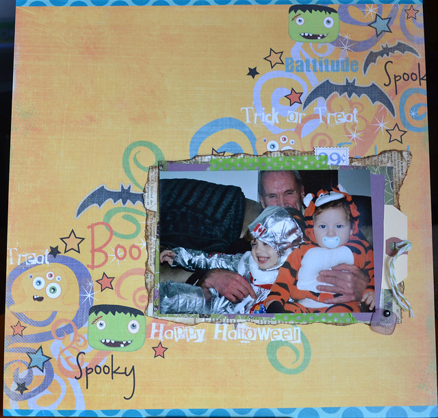 Poppy & boys_Halloween 2011