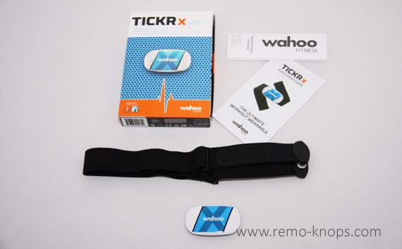 Wahoo Tickr X Heart Rate Sensor 4989