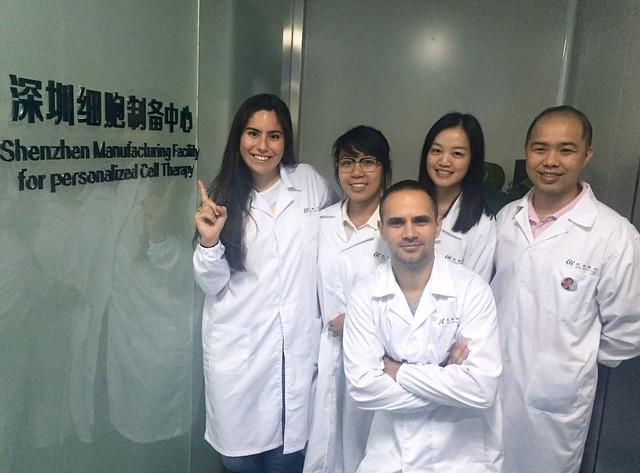 Lab tour Veronica Trevino - Beike Biotechnology - Shenzhen China 9 weeks