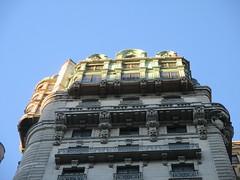 Ansonia Apartment Building Detail 3849