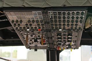 G-UHIH's Overhead Panel