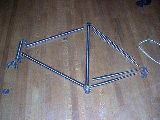 Porteur-randonneur frame kit