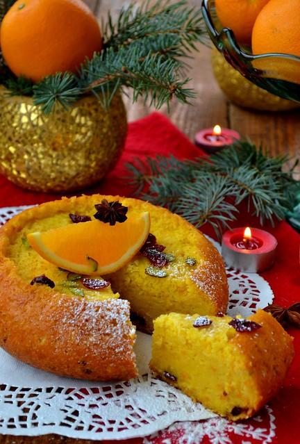 апельсиновый бисквит 4
