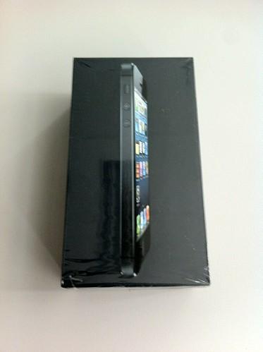iPhone 5 - kidobozolás #3