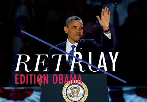 RetroPlay Edition Obama Curated by Phil