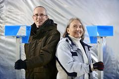 Yves Gauthier, professionnel de recherche, et Monique Bernier, professeure