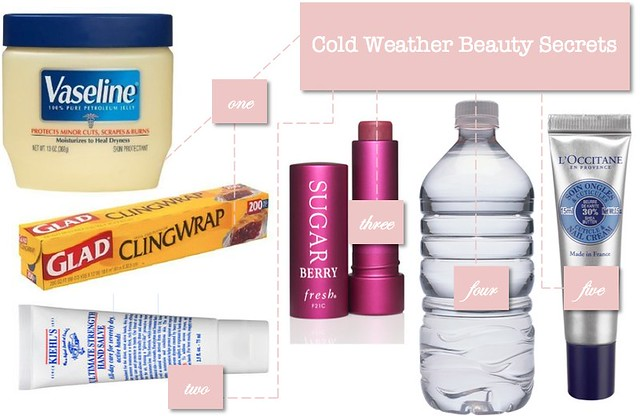 cold weather beauty secrets