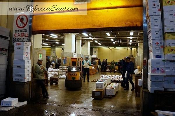 Tsukiji Market Tuna Auction - Tokyo Japan-050