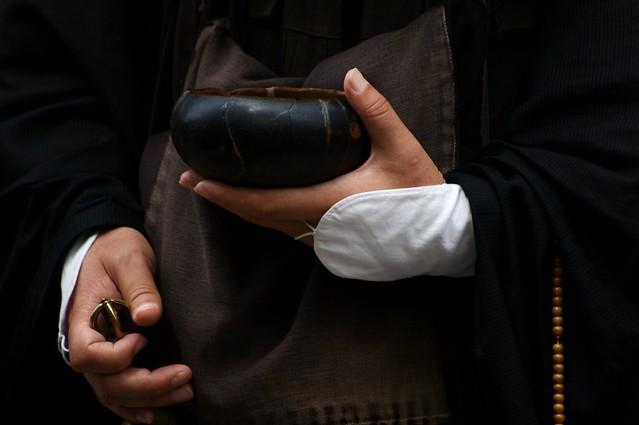 The Hands Of A Japanese Zen Monk