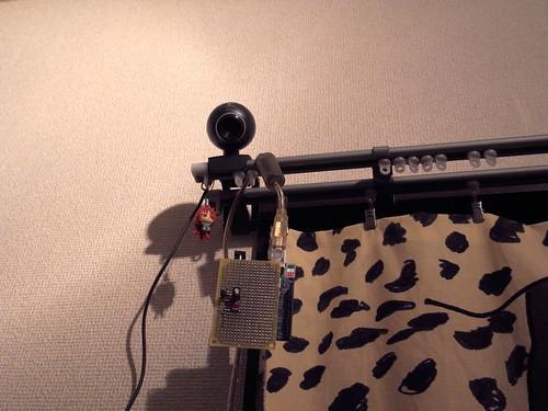 Arduino 温度・明るさセンサ設置