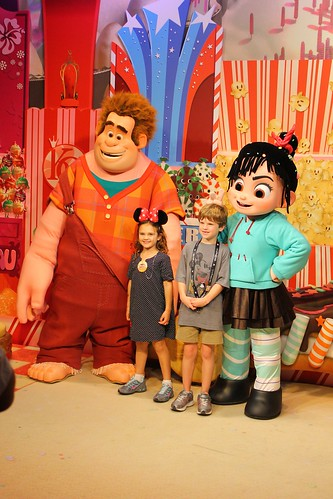 Wreck-It Ralph meet and greet at Disney's Hollywood Studios