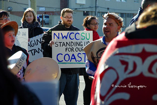 """NWCC student union standing up for our coast"""