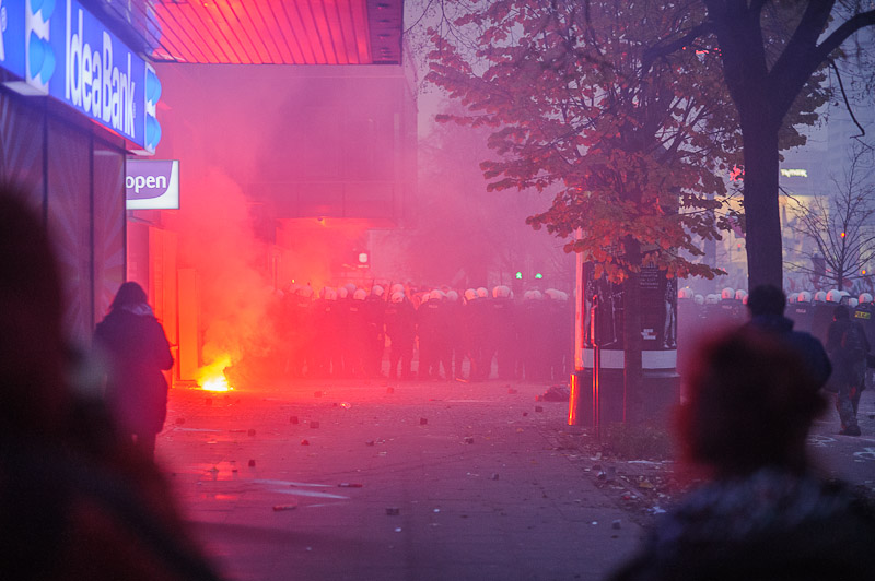 riot in warsaw, independence day 2012 / marsz niepodleg�o�ci 2012