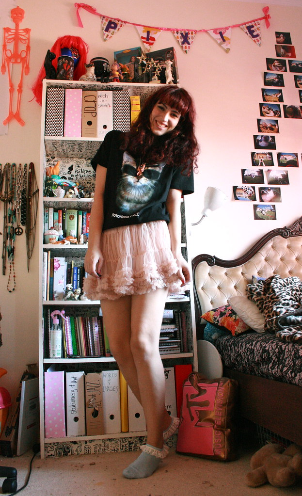 CAT t-shirt and tutu