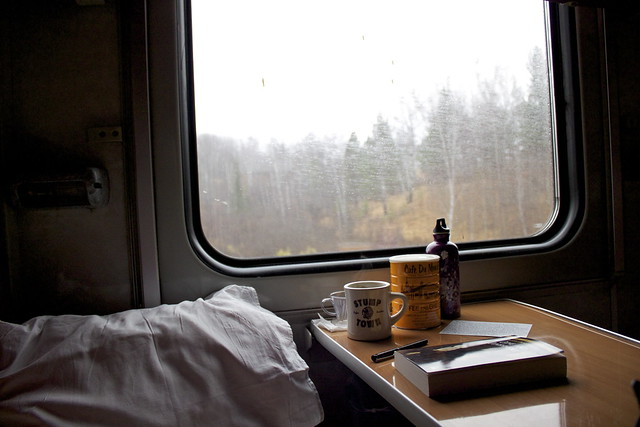 Train travel by flickr user seafaringwoman