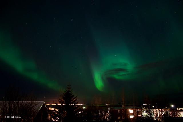 Aurora - My Balcony View