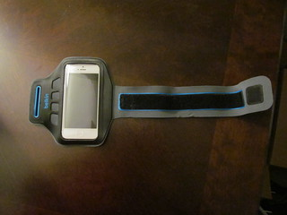 iPhone arm band