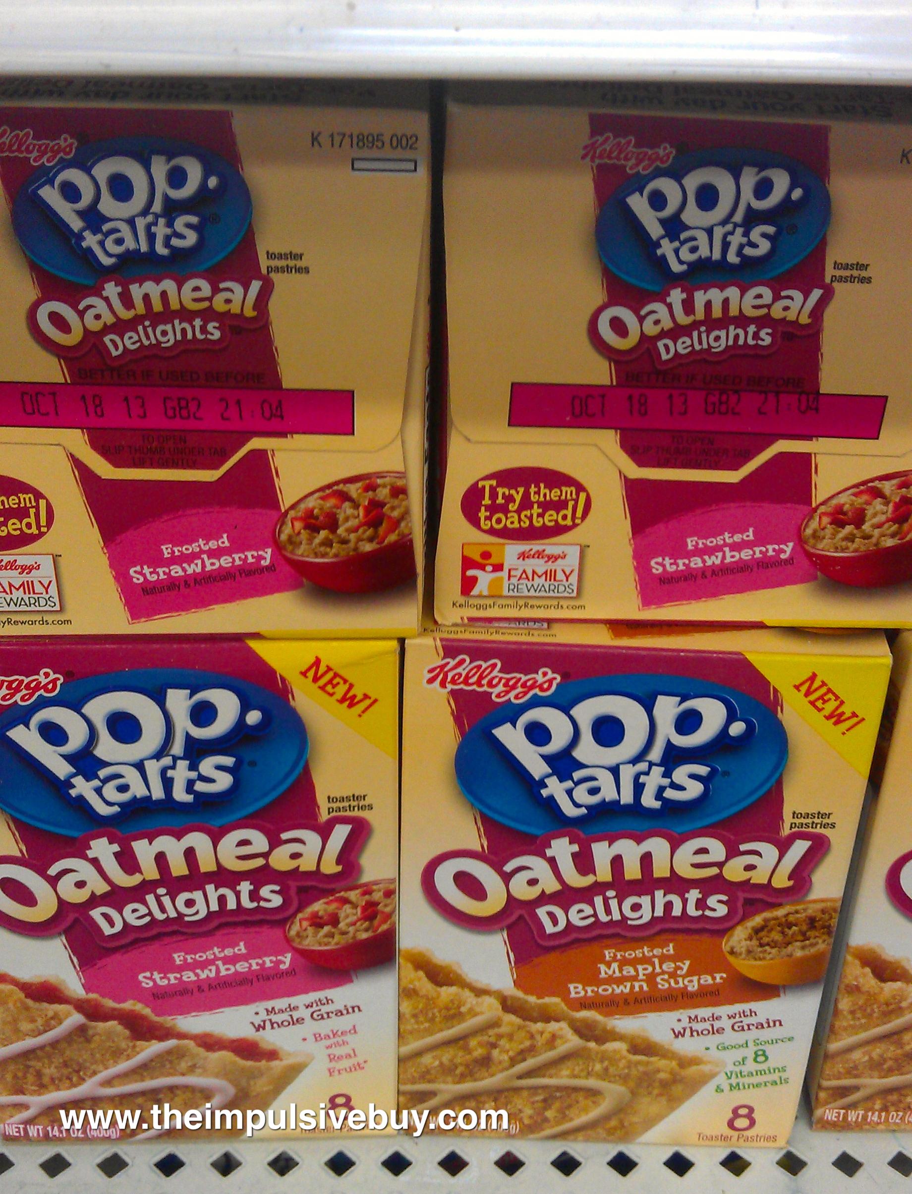 Pop-Tarts Oatmeal Delights | Flickr - Photo Sharing!