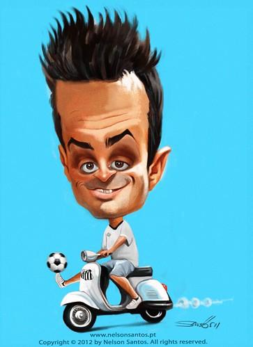 Falcao-melhor-jogador-futsal-mundo by caricaturas