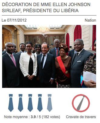 Francois ta cravate