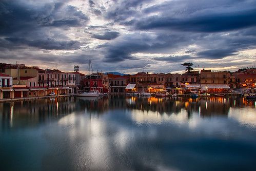 Old harbour, Rethymno