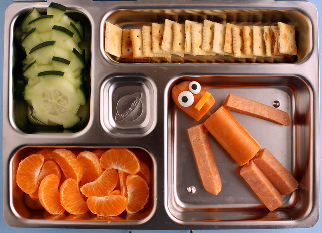 Preschool Hot Dog Man Bento #360