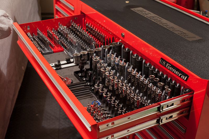 The Tool Boxes Of The E34 Section The Kind That Hold