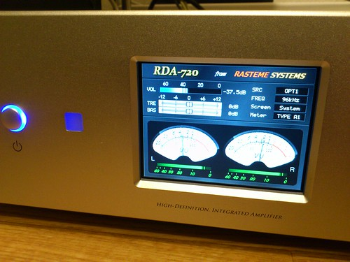 2台目デジタルアンプ Rasteme Systems RDA-720