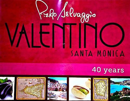 Valentino's 40 years