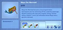 Maya the Mermaid