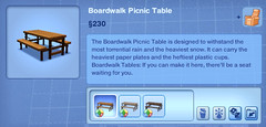 Boardwalk Picnic Table