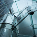 NYC Apple store glass elevator by Xiphoid8