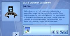 Dr. F's Climatron Control Unit