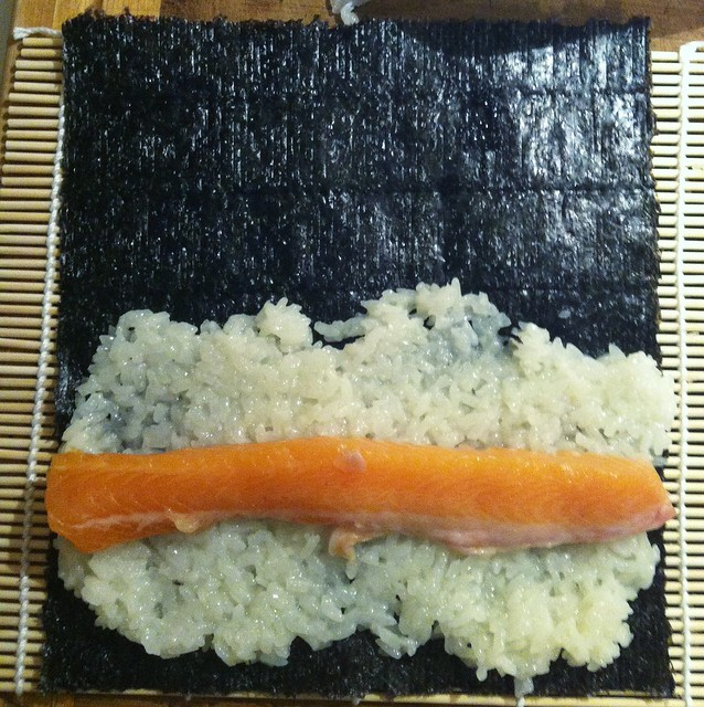 How To Roll Maki (Sushi) Sushi Rice