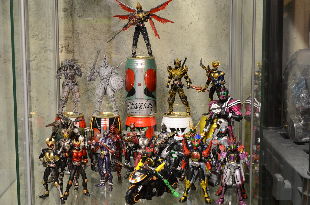 Misc. Kamen Rider display