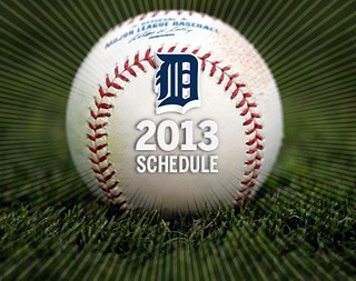 2013 DETROIT TIGER SCHEDULE AND RESULTS 8200233981_fc29e664d5_n