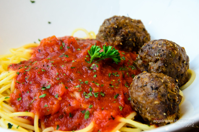 Meatball Bolognese