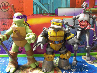 Nickelodeon  TEENAGE MUTANT NINJA TURTLES :: METALHEAD  xxi / ..with Nick Donatello & KRAANG (( 2012 ))