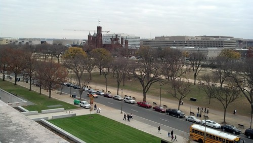 Views from the American History Museum terrace