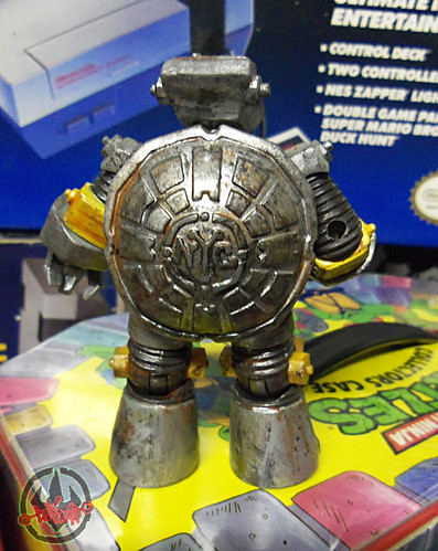 Nickelodeon  TEENAGE MUTANT NINJA TURTLES :: METALHEAD { tOkKUSTOM JUNKYARD Rust WASH } vi (( 2012 ))