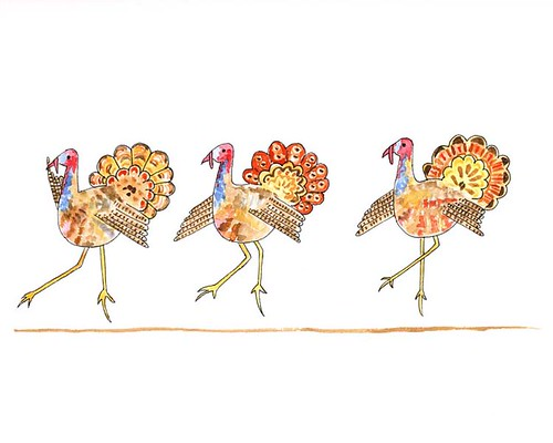 turkey tiptoe