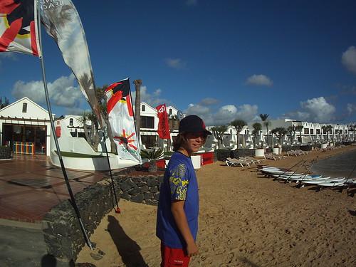 Noah Voecker at Sands Beach Resort