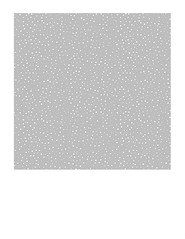 7x7 inch SQ  Snow Dot Silver Skies (light grey) paper LARGE SCALE