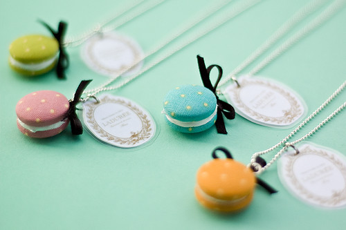 Macarons necklaces