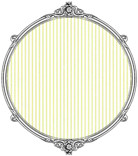 Monochromatic Pin Stripe (chartreuse) - free printable paper SAMPLE