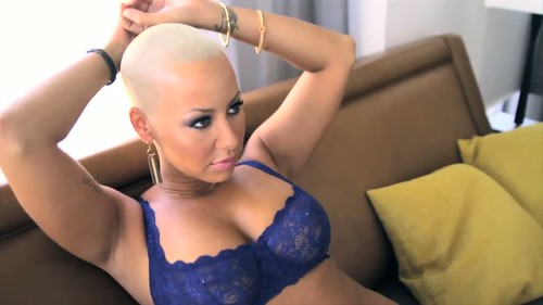 Amber Rose King Magazine out take pictures