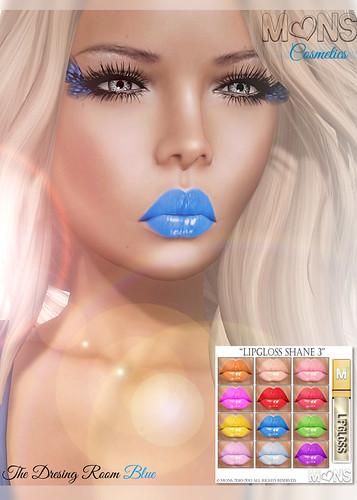 MONS / Makeups - Lipgloss Shane3 (TDRblue) by Ekilem Melodie - MONS