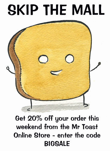 Mr Toast Sale